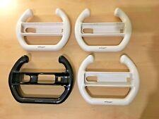 4 x  Nintendo Wii Steering Mario Kart Wheel Wheels Unofficial 3 White + 1 Black