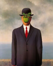 Son of Man  by Magritte   Giclee Canvas Print Repro