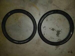 "Bontrager XR1 comp 20x1.85"" (Pair) Kids Mountain Bike Tyres - BMX also"