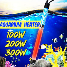 Aquarium Submersible Heater Fish Tank Auto Water Thermostat 100/200/300W a N