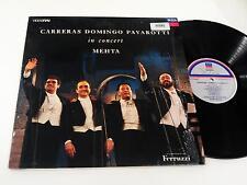 CARRERAS DOMINGO PAVAROTTI IN CONCERT METHA LP