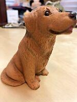 Bandanna Sculptures Vintage Dog Sculpture / Art Figurine, 1984 ** Collectible**