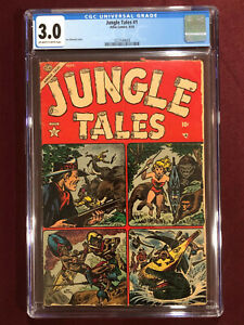 JUNGLE TALES 1 CGC 3.0 1954