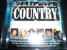 Gotta Go Country Vol 2 Various CD Adam Brand James Blundell Melinda Schneider &