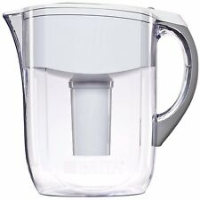 Brita 10 Cup Grand Water Pitcher with 1 Filter, BPA Free