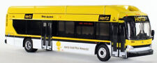 New Flyer Excelsior Bus Hertz Car Rental 1:87-HO Scale Iconic Replicas New!
