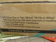 New listing Brand New Definitive Technology SubAmp 600 Subwoofer Amplifier Single Channel