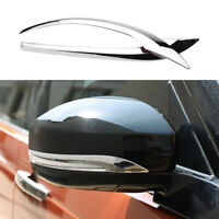 For LandRover Discovery 5 2017-2020 Chrome Rear View Side Door Mirror Strip Trim
