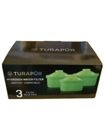 Turapur Hydrogen Water Filters - 3 Pack - SEALED