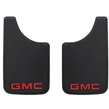 "GMC Mud Splash Guards 9"" x 15"" Universal For Cars Trucks SUVS"