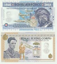 Uk Great Britain 2018 Unc Raf Commemorative Test Note Banknote