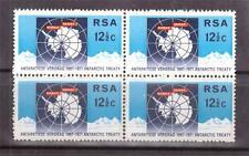 SOUTH AFRICA,  1971, ANTARCTIC, 12 1/2c SG  304, MNH BLOCK 4