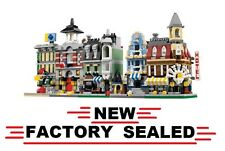 Lego 10230 MINI MODULAR CITY new Cafe Corner Green Grocer Fire Brigade emporium