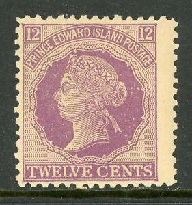 Canada 1872 Prince Edward Island 12c Violet Scott #16 MNH C237