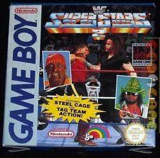 WWF SUPERSTARS 2 Gameboy Game Boy Versione Europea ••••• COMPLETO