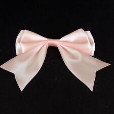 "1.2.10.20 or 50 x130mm (4-5"" wide) Giant Double Bows Satin Ribbon Bows Tails"