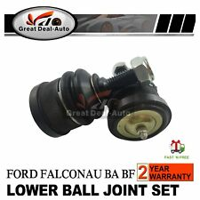 Pair of Front Lower Ball Joints Kit For Ford Falcon AU BA BF XR6 XR8 Fairlane