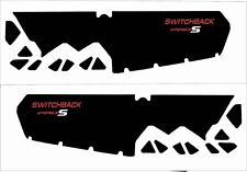 POLARIS tunnel decal GRAPHIC WRAP SWITCHBACK  800 600 PRO S AXYS 120 137 red pro