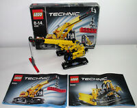 LEGO Technic 9391 Tracked Crane Bulldozer 2 in 1 100% complete