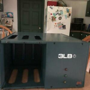 BAE AUDIO 3LB  3 Channel 500-Series Portable Rack Chassis - MINT CONDITION!