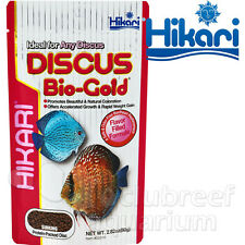 Discus Bio-Gold High Protein Color Enhancing Fish Food Hikari 2.8oz