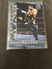 Yoshihiro Tajiri Signed 2002 WWF Fleer All Access Card #3 WWE ECW  No COA