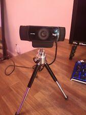 Logitech C922 Pro Stream Webcam / Tripod Included - Black