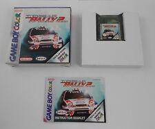Top Gear Rally 2 Nintendo Game Boy Color OVP box cómo jugar manual Gameboy