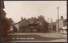 Cranborne Village, Dorset. The Square, Cranborne. Children, Washing Line. RPPC