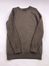 Barbour 100% Wool Knit Sweater Jumper Pullover Large
