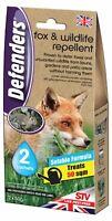 100g Fox Repellent Humane fox Control Urban Pest Deterrent Treats 50SQM Formula