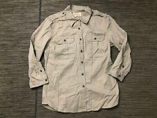 Denim Supply Ralph Lauren Womens Medium Button Down Utility Shirt
