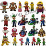 New Super Mario Bros U Characters Collectible PVC Plastic Action Figure Doll Toy