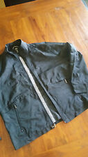 Alfani Black wind jacket zip front w pockets szL preowned free post D81