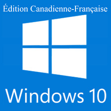 Windows 10 Home | Pro Install Restore Boot DVD Disk Disc French Canadian Edition