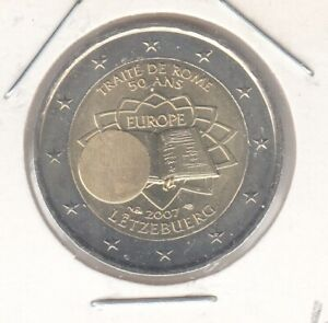 Luxemburg 2007 Römische Verträge bankfrisch