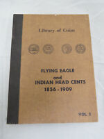 Library of Coins Flying Eagle & Indian Head Cents Vol. 1 Album - No Coins (b)