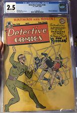 Detective Comics #140 CGC 2.5 GD- 1st App. Riddler! (10/48)