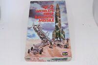 Revell V-2 Worlds First Ballistic Missile Model Kit Vintage 1972 Release Rocket