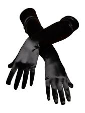 "21"" Long Stretched Satin Dress Gloves Wedding Costume Prom Dance"