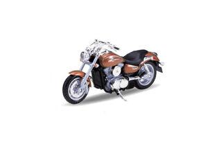 1:18 Kawasaki Vulcan 1500 Mean Streak by Welly in Bronze 12166