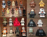 1Y STAR WARS MINI FIGURES lego and Custom Figures - Battle Droids Fett Trooper