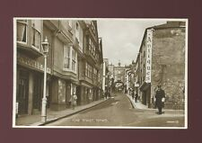 Devon TOTNES Fore St  c1920/30s? PPC Valentine Photo Brown Series
