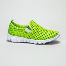 Chaussures vert moyen en caoutchouc pour garçon de 2 à 16 ans