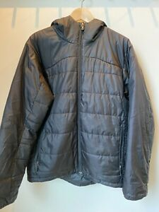 Patagonia Macro Puff Hooded Jacket Mens Medium Black – Original Version