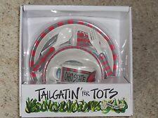 New listing New* Tailgatin' Tots Ohio State Buckeyes Children's dinnerware 5 piece Brutus