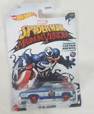 2020 Hot Wheels Marvel Captain America '71 El Camino Venomized - 3/5