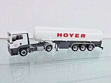"Herpa 308618 - 1:87 - MAN TGS L C benzintank-sz "" HOYER LNG "" -"