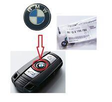 BMW BMW E87 E88 E90 E91 ORIGINALE EMBLEMA LOGO CHIAVE 66122155754 11mm