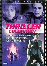 THRILLER COLLECTION BOX : FM-FREQUENZ MORD, DIE 4. DIMENSION, DEAD RINGERS / DVD